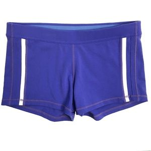 Lululemon | Luon Shorts White Side Stripe